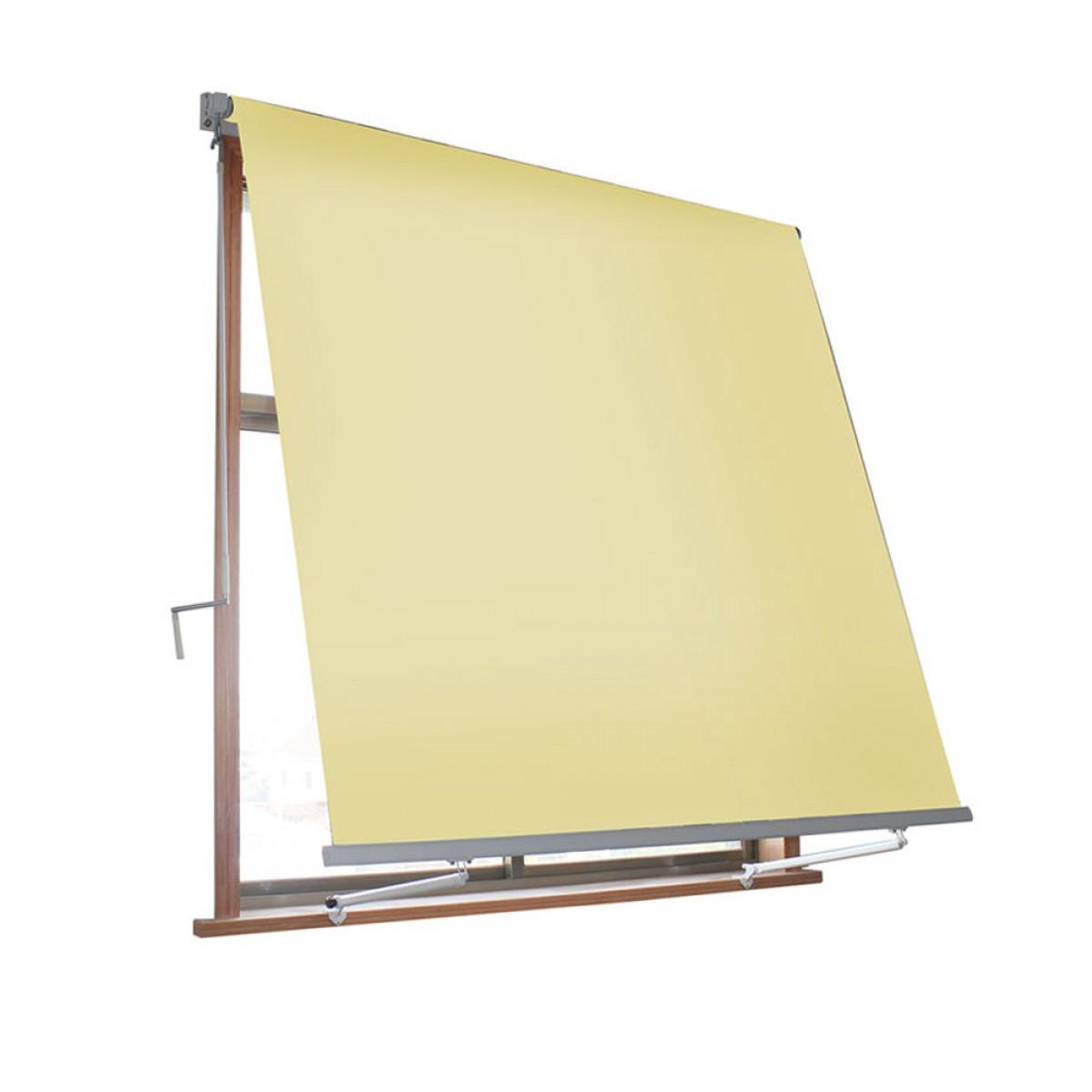 VERDELOOK Tenda da Sole avvolgibile a caduta con braccetti mt 3 x 2,45